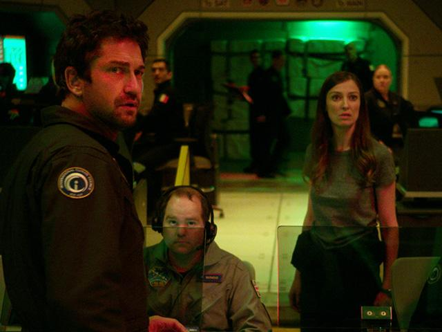 Gerard Butler in Geostorm movie, courtesy of Warner Bros.