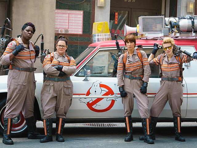 Ghostbusters, christian movie reviews