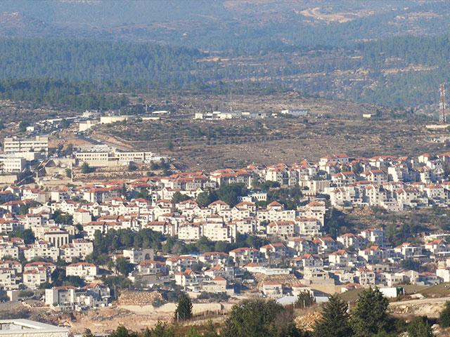 Gush Etzion, Samaria. Photo: CBN News/Jonathan Goff