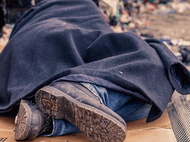 homelessmansleepingas