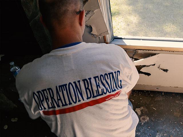 Hurricane Matthew OB Worker