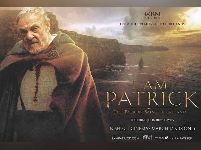 "St. Patrick is portrayed in CBN's film ""I Am Patrick"""