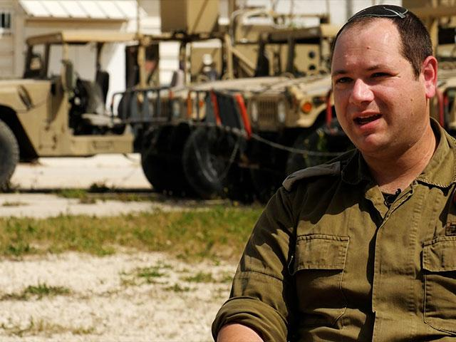 Jesse Ebner, IDF Sergeant First Class, Photo Credit: CBN News