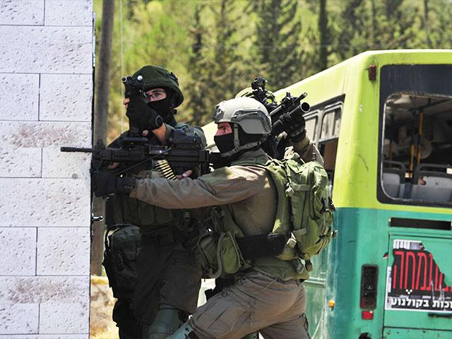 IDF training facility. Photo Credit: Jonathan Goff/CBN News