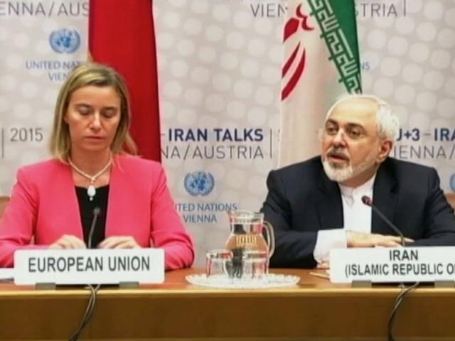 EU High Representative Federica Mogherini and Iranian Foreign Minister Javad Zarif, Photo, AP archives