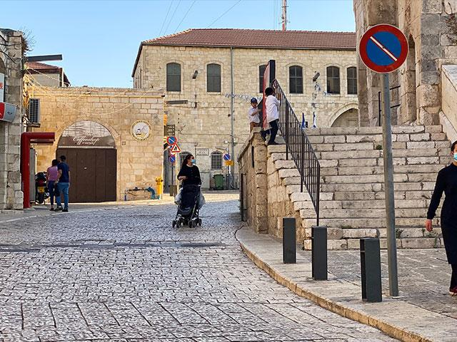 Israel Lockdown in Jerusalem's Old City