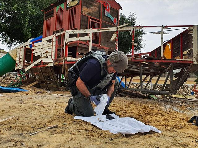 Rockets Fired from Gaza into Israeli Playground
