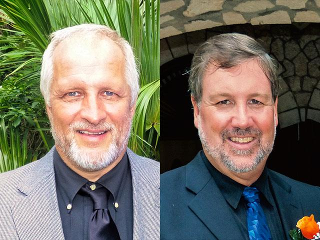 US Missionaries Harold Nichols and Randy Hentzel