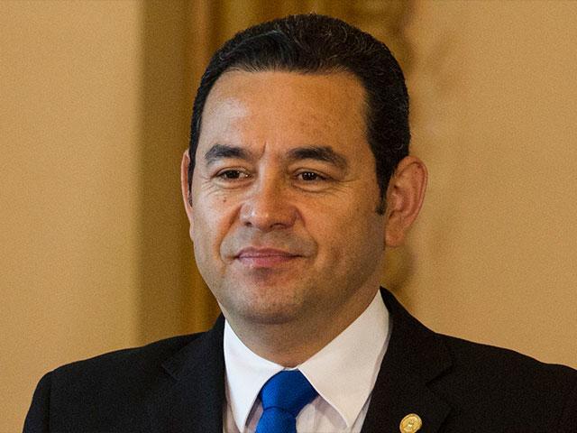 Guatemalan President Jimmy Morales, Photo, AP