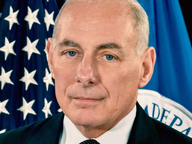 Homeland Security Secretary John Kelly