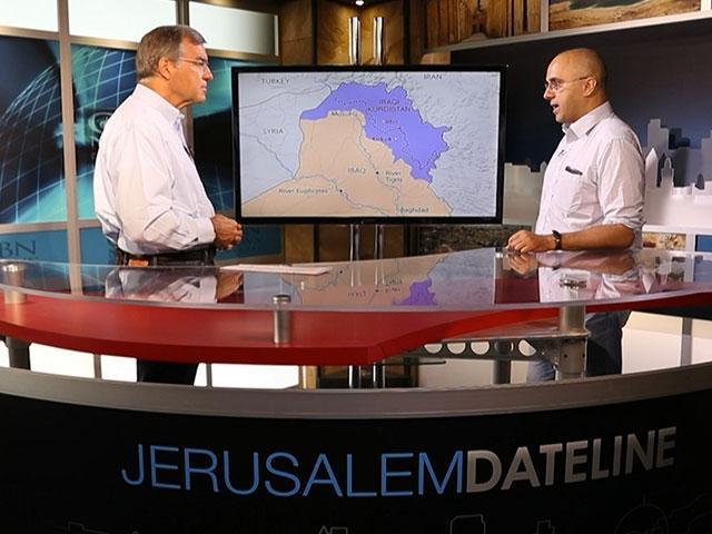 Jonathan Spyer with CBN News