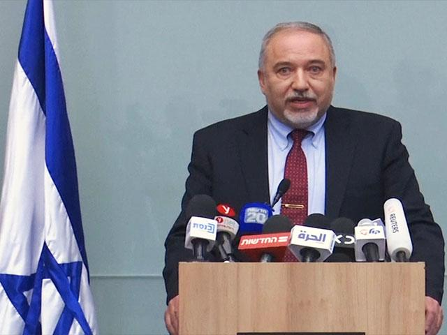 Avigdor Liberman resigns as Israel's Foreign Minister.