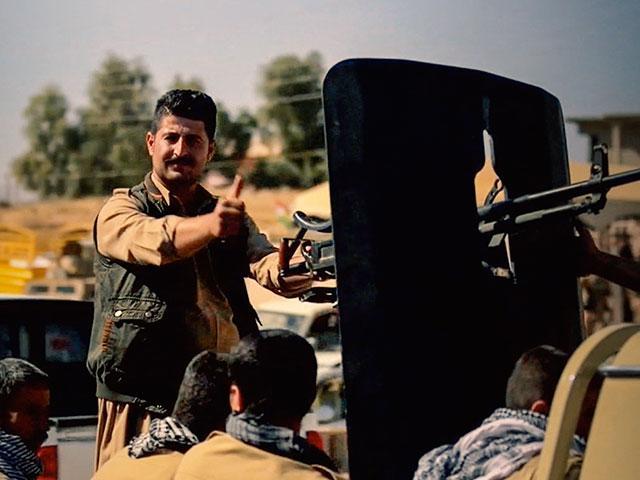 kurdishsoldieriraqmosul