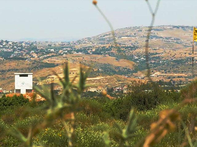 Israel's Air Force attacked Palestinian terror targets along the Lebanese-Syrian border