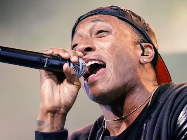 Grammy-winning rapper Lecrae. (AP Photo)