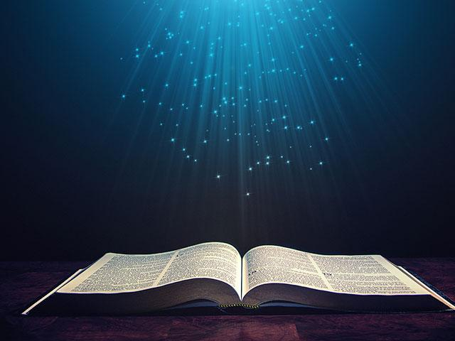 lamp and bible - photo #48