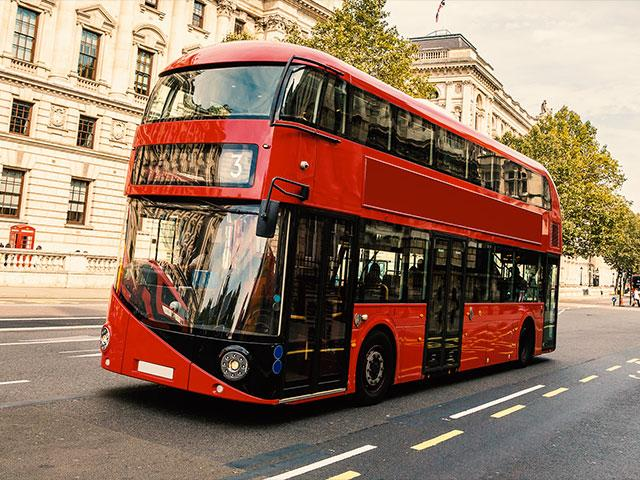 London Double Decker Bus AS