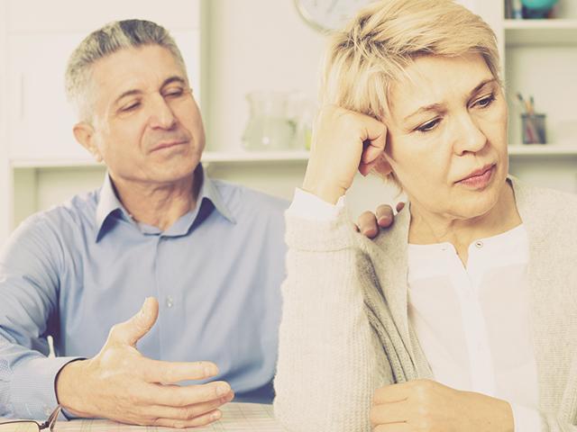 Manipulative spouse