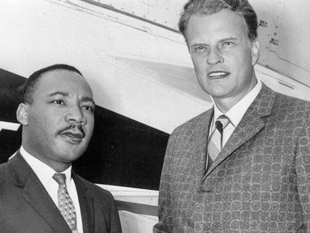 Martin Luther King Billy Graham