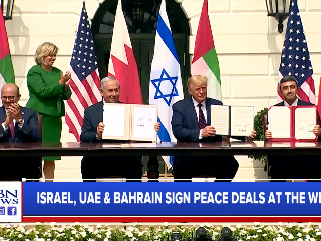 Israel Signs Historic 'Abraham Accord' With UAE, Bahrain at White House