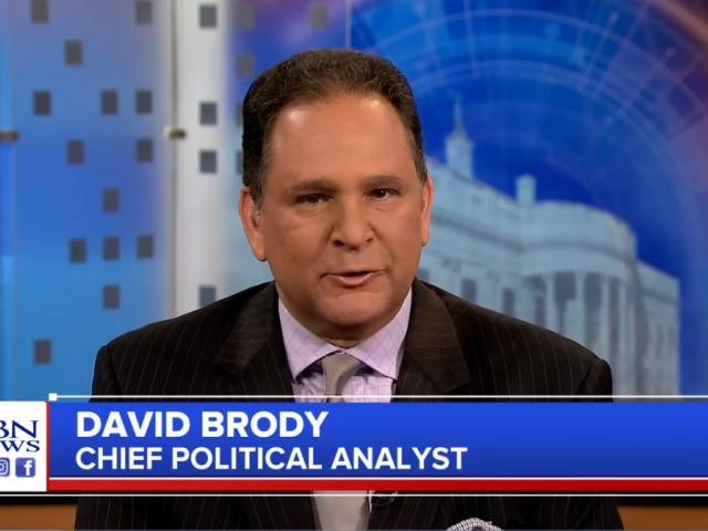 CBN News Chief Political Analyst David Brody. (Image credit: CBN News)