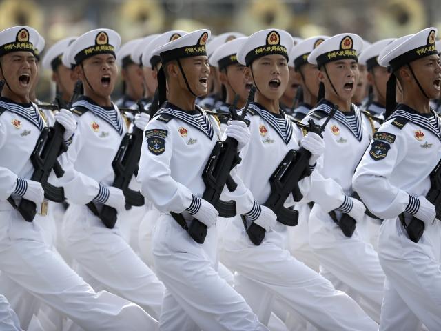China Navy Parade