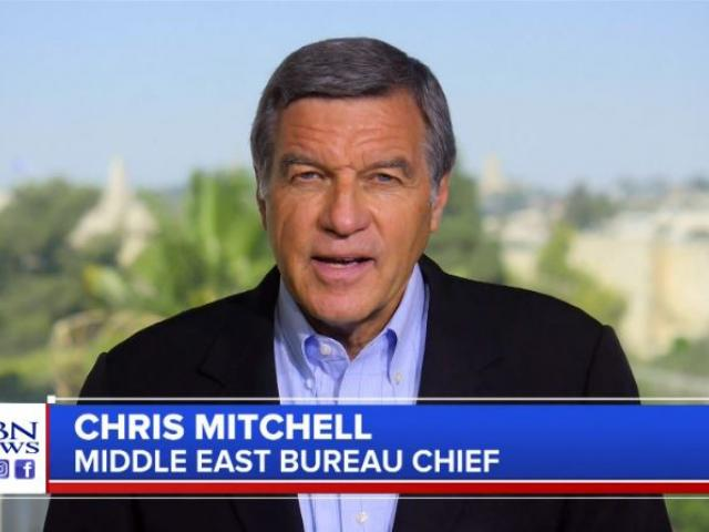 CBN News Jerusalem Burea Chief Chris Mitchell. (Image credit: CBN News)