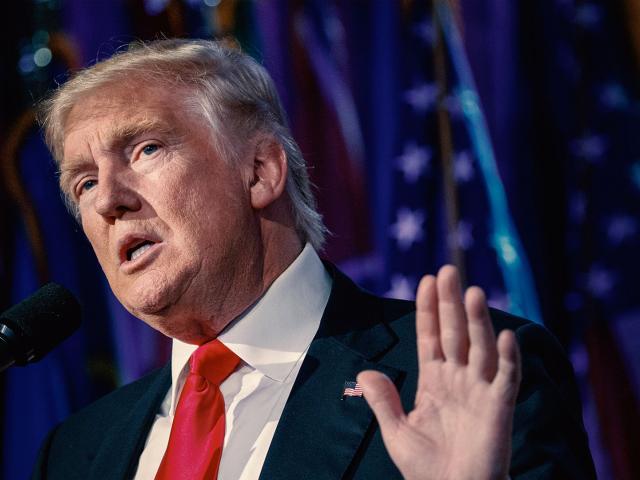 President-elect Donald Trump, AP image