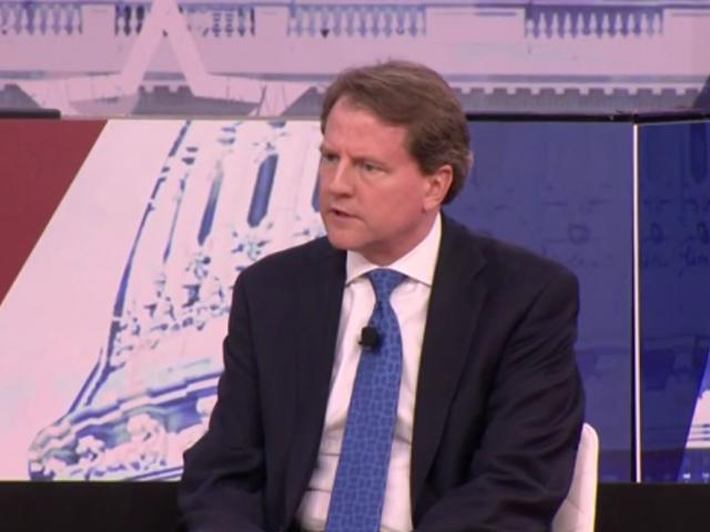 Don McGahn. (Screenshot credit: APTN)