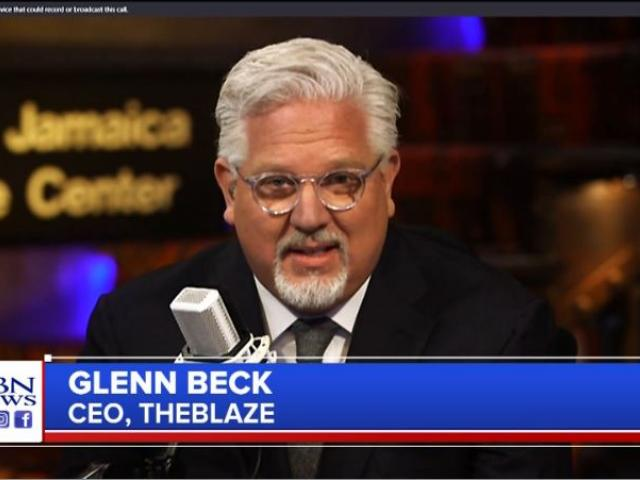 Glenn Beck. (Image credit: CBN News)