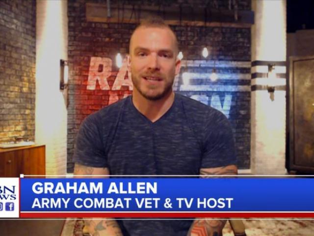 Graham Allen, Blaze TV host. (Image credit: CBN News)