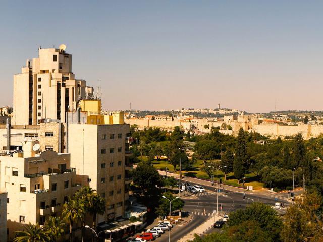 Inbar Hotel's 360 View of Jerusalem