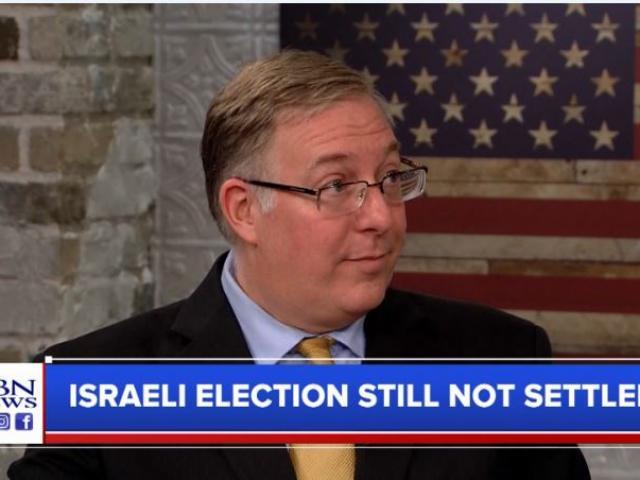 Joel Rosenberg. (Image credit: CBN News)