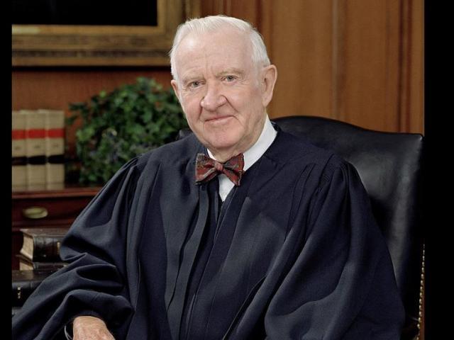 Former Supreme Court Justice John Paul Stevens. (Image credit: Wikipedia)