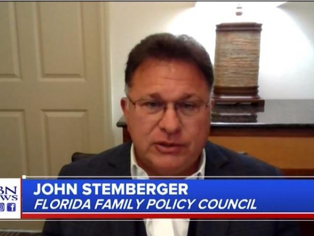 John Stemberger, president of the Florida Family Policy Council. (Screenshot: CBN News)