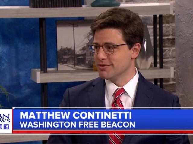 Matthew Continetti is co-founder and editor in chief of the Washington Free Beacon. (Image credit: CBN News)