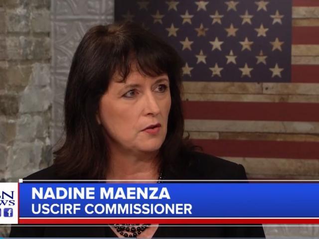 Nadine Maenza. (Image credit: CBN News)