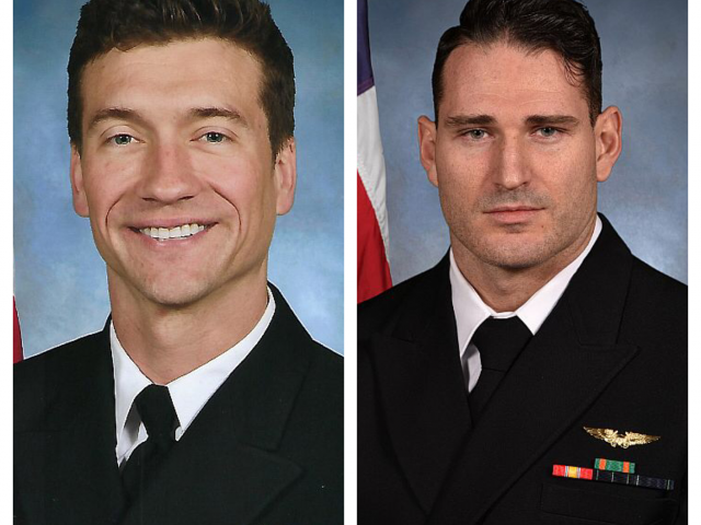 Navy Identifies The Two Pilots Killed In F/A-18F Crash