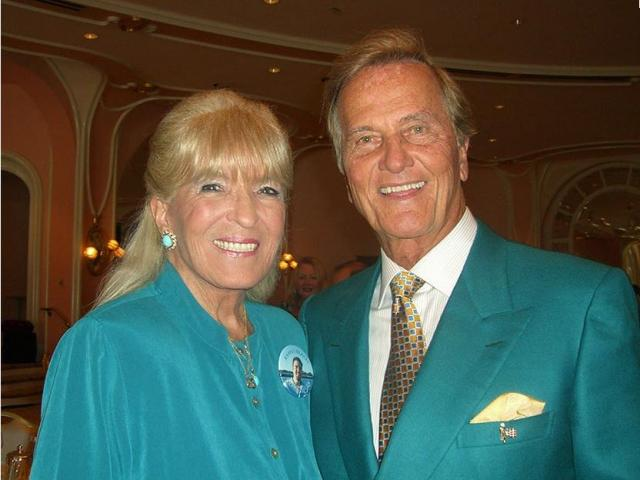 Shirley and Pat Boone.  Photo courtesy: Pat Boone