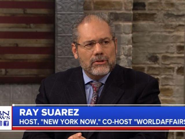 Ray Suarez. (Image credit: CBN News)