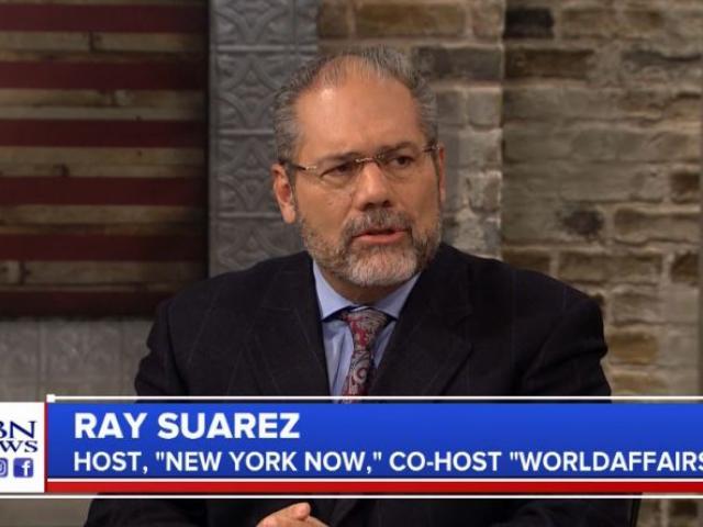 Ray Suarez. (Image credit: CBN News)