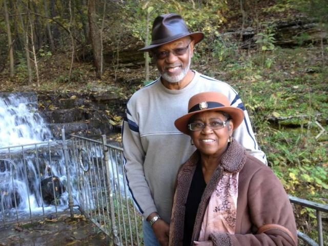 "Robert ""Bob"" Williams and his wife Judith.  Photo Credit: Robert ""Bob"" Williams/Facebook."