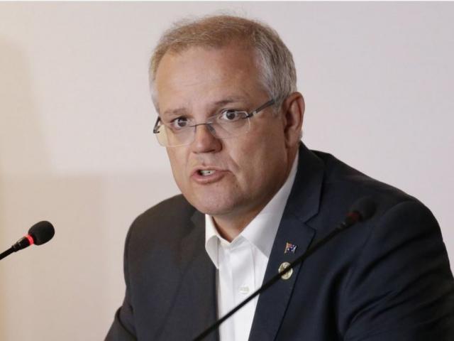 Australian Prime Minister Scott Morrison. AP Photo.