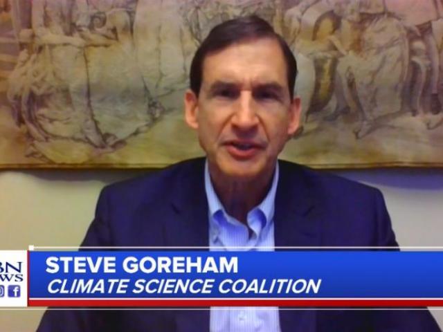Climate expert Steve Goreham. (Image credit: CBN News)