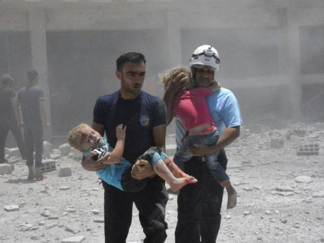 Israel Rescues Hundreds of Syrian 'White Helmets' and their Families, Photo, AP