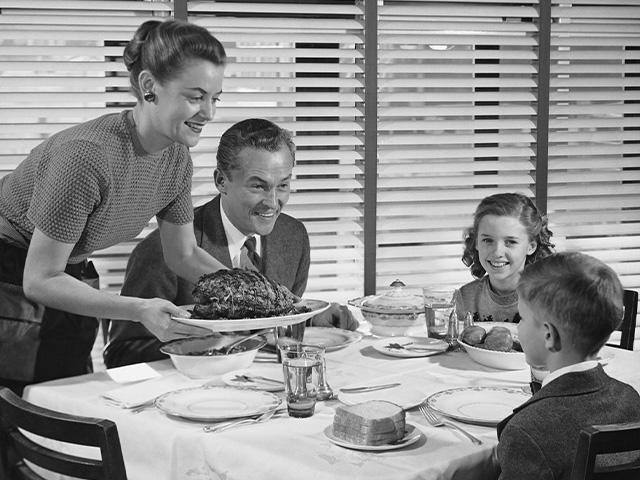 1950s Family Dinner