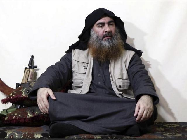 The leader of the Islamic State group, Abu Bakr al-Baghdadi (AP Photo)