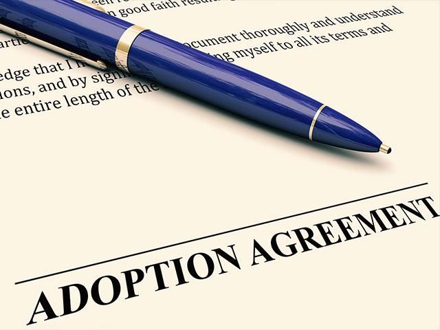 Texas adoption law