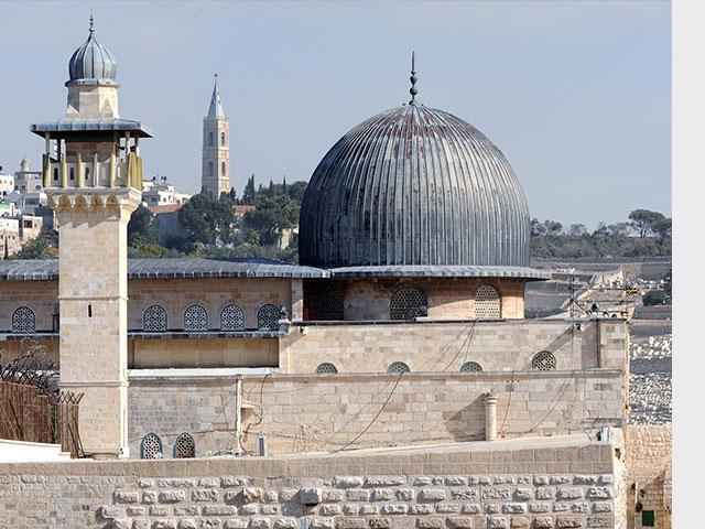 Al-Aksa Mosque, Courtesy GPO, Amos Ben Gershom