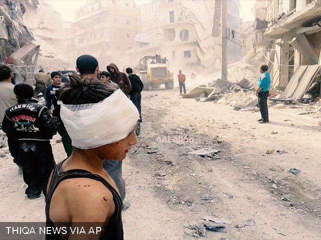 Aleppo, Syria, Associated Press image